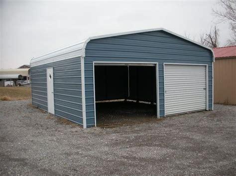 black metal garage doors