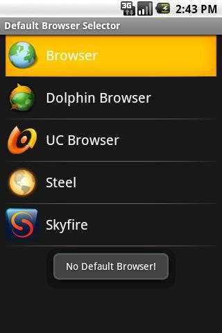 set default browser android how to change your default android browser