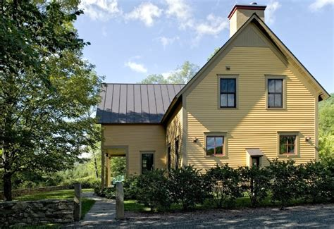 farmhouse reinterpreted farmhouse exterior burlington by smith vansant architects pc