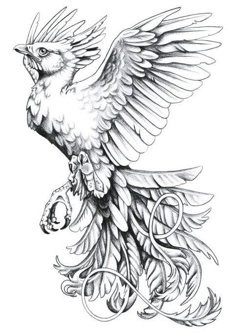 phoenix rising tattoo design bird rising from the ashes like that this is