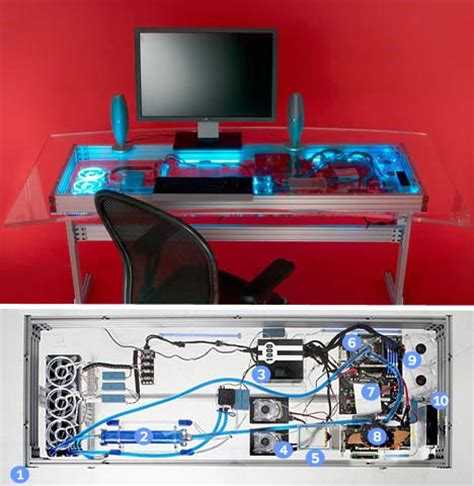 Built In Pc Desk by Woodworking Plans Computer Built Into Desk Plans Pdf Plans