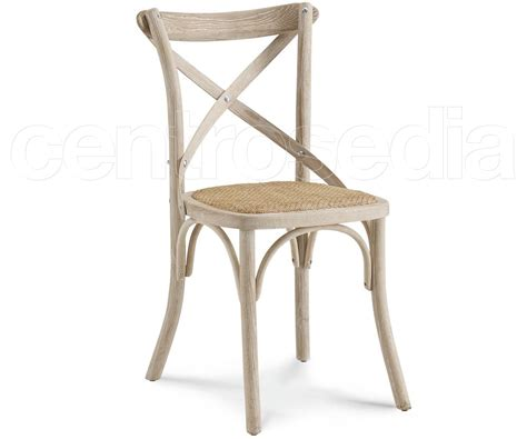 sedie rattan cross sedia legno seduta rattan sedie shabby chic