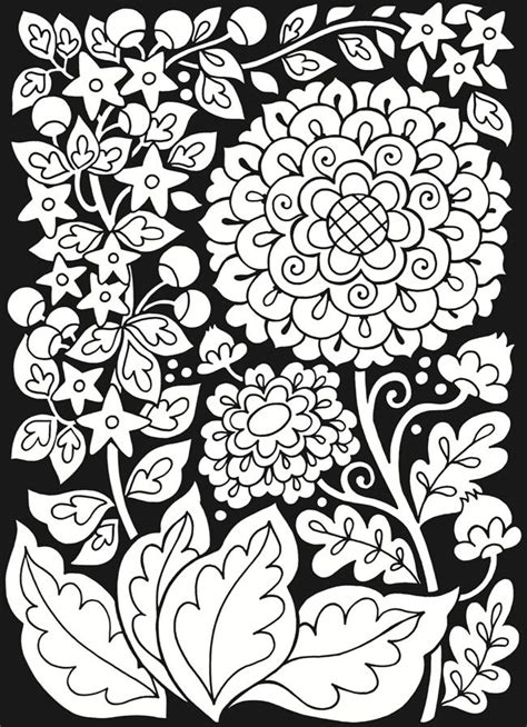 Floral Stained Glass Pattern Book floral fantasies stained glass coloring book dover