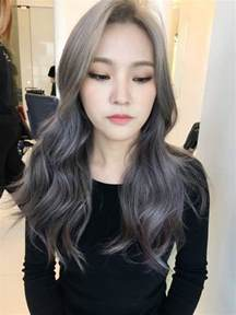 trending hair colors the new fall winter 2017 hair color trend kpop korean