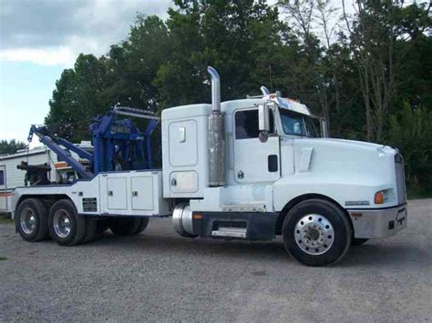 Kenworth Semi Wrecker 750 And Zacklift 1988