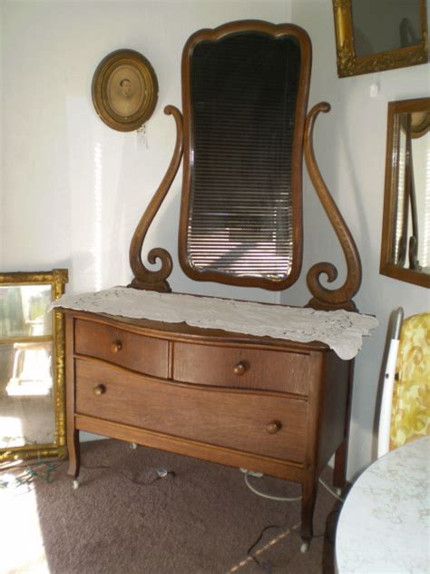 Early 1900 Dressers by Early 1900s Oak Princess Dresser The Place