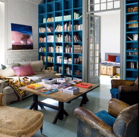 hommcps painted bookshelves