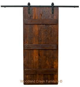 Barn Wood Door Barn Wood Door Barnwood Sliding Door Bypass Door