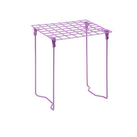 Purple Locker Shelf by Honey Can Do Excessory Locker Shelf In Purple Bts 06609