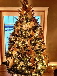 rustic christmas tree dec ideas pinterest
