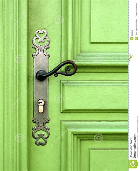 green door stock photos image 209023