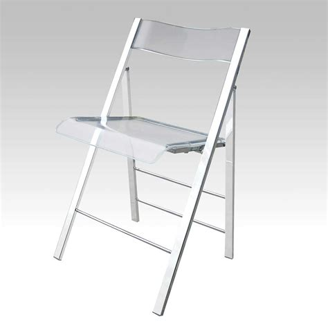lucite folding chairs for comfort