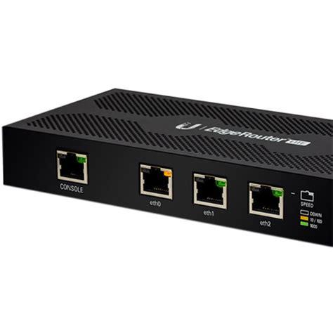 Ubiquiti Erlite 3 Edgemax Edgerouter Lite 3 Port Router 29714 Wa ubiquiti networks 174 erlite 3 edgerouter lite 3 port router