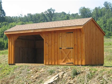Tack Shed by Shelters Unlimited Barns