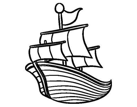 barcos para colorear en linea dibujo de nav 237 o de l 237 nea para colorear dibujos net