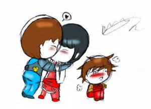 Ninjago jay and nya jay x nya chuuuu in brush