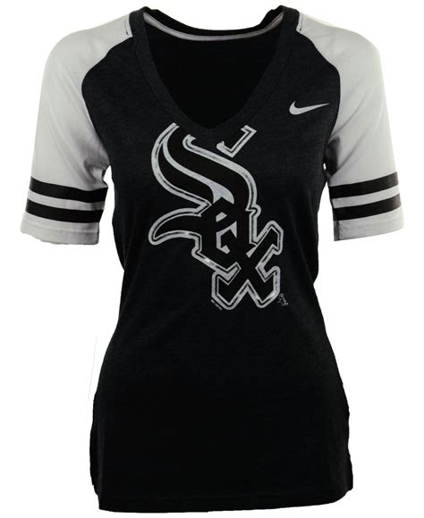 T Shirt Tosca Blue Nike nike s sleeve chicago white sox fan top t