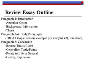 Theme Analysis Outline by Literary Analysis Essay Ppt