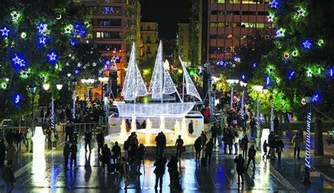 athens lights athens lights switch on friday december 9