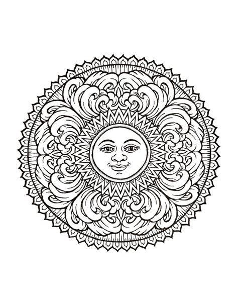 mystical mandala coloring pages free 17 best images about wiccan pagan coloring pages on