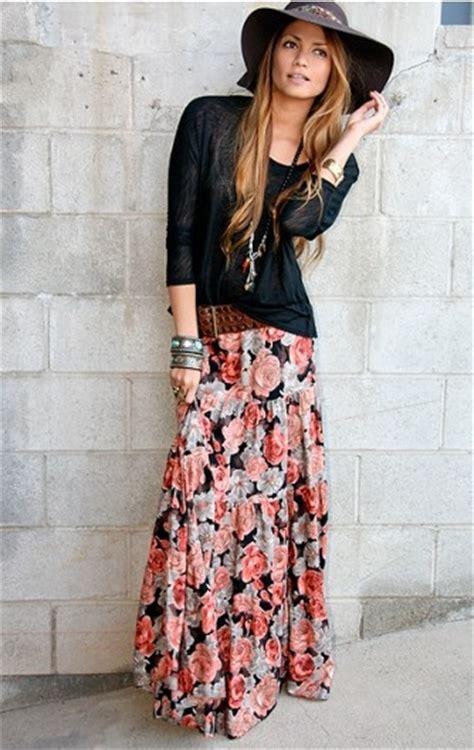 wear  maxi skirt glam radar