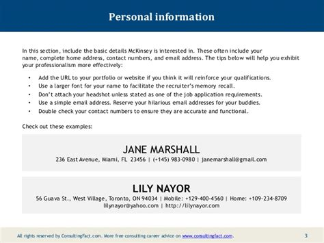resume sle personal information sle of personal information in resume 28 images step