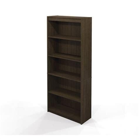 bestar 5 shelf wall tuxedo bookcase