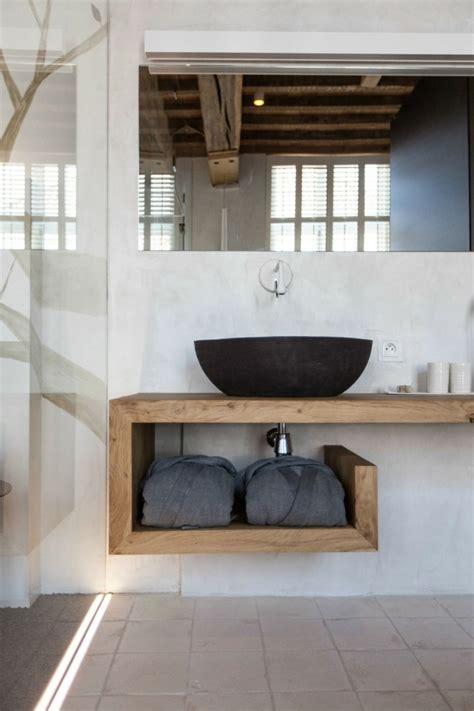 Holz Lackieren Untergrund by Waschtisch Aus Holz F 252 R Aufsatzwaschbecken Bauen