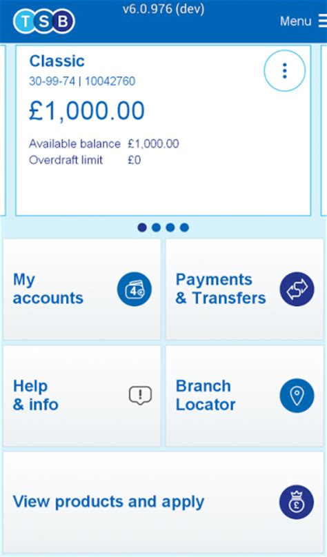 reset online banking tsb tsb mobile banking download apk for android aptoide