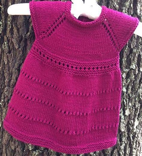 free knitted dress patterns for toddlers the sweetest knitted baby clothes