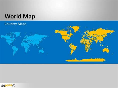 Editable World Map Powerpoint Editable World Map Powerpoint