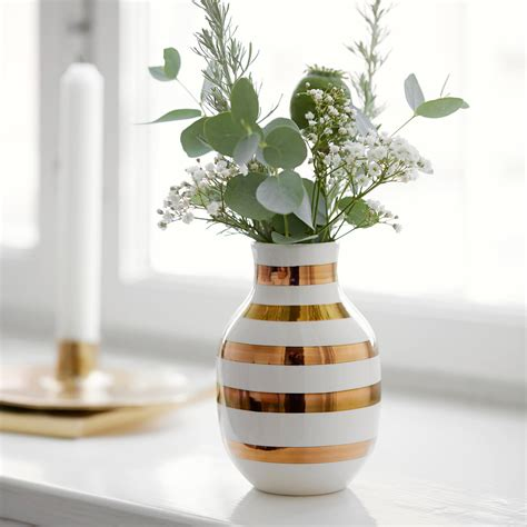 Vase Designs by Omaggio Vase H 12 5 Cm By K 228 Hler Design