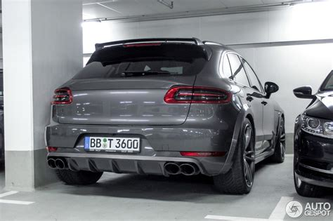 porsche macan turbo 2016 porsche techart 95b macan turbo 17 march 2016 autogespot