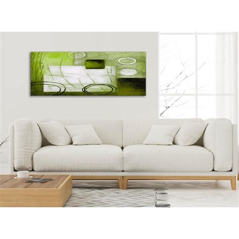 Green Bedroom Accessories Uk lime green painting living room canvas pictures