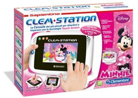 alimentatore clem station clementoni 13859 clem station disney minnie tablet per
