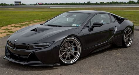 Bmw I8 Vorsteiner Shows Stealthy All Black Bmw I8