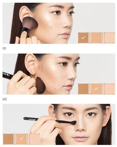 W Lab W Lab 3d Shape Highlighter box korea memebox i m shading palette 3color 14