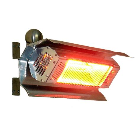 Fire Sense Stainless Steel Wall Mounted Infrared Patio Sense Infrared Patio Heater