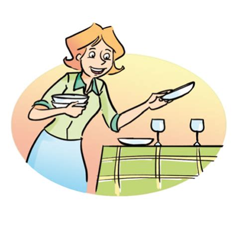 Set The Table by Household Chores Cglearn It