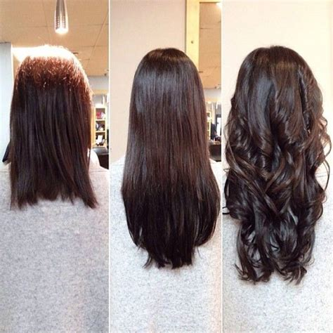 brown hair extensions quot stylist william made sure to give salon guest
