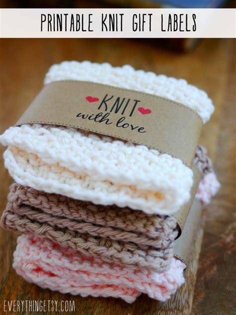 Free Printable Knitting Labels