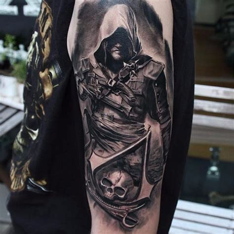 assassins creed tattoo designs best 25 assassins creed ideas on