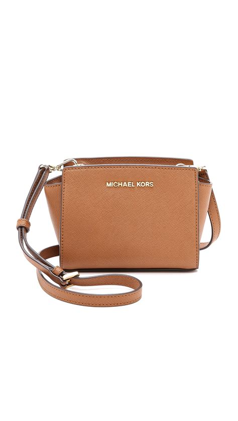 Mini Bag michael michael kors selma mini messenger bag in brown
