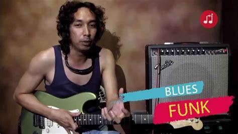 cara bermain gitar dengan not angka teknik bermain gitar funk dengan menggunakan blues scale