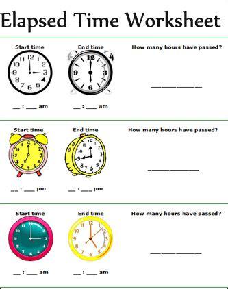 printable games for elapsed time elapsed time worksheets math ideas pinterest elapsed