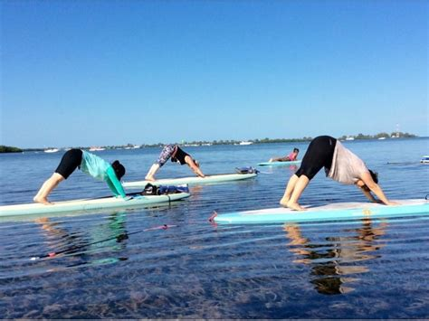 Stand up paddle boarding and SUP Yoga classes at Little