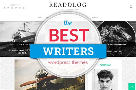 themes wordpress writers 75 wordpress themes for writers and authors 2018