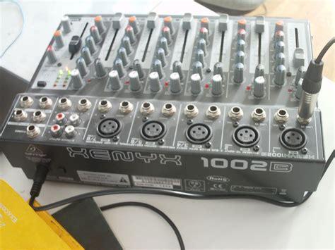 Mixer Xenyx 1002b behringer xenyx 1002b image 692505 audiofanzine
