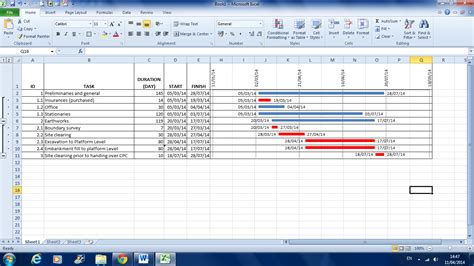 work program template construction manager how to create a work program with