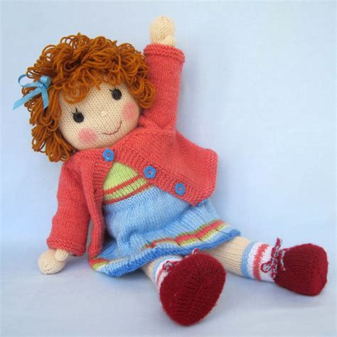 free knitted doll patterns belinda doll knitting pattern pdf instant